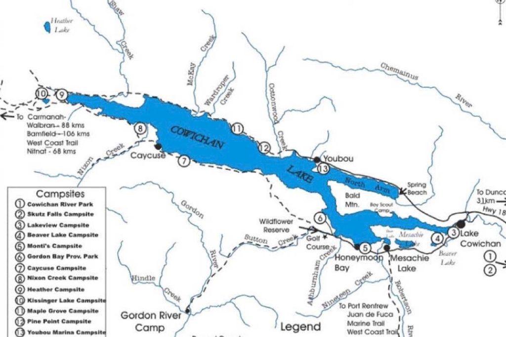 Fisherman missing near Lake Cowichan's Shaw Creek – Ladysmith Chronicle - Ladysmith Chronicle